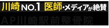 川崎の整体なら「AP川崎駅前整骨院」 ロゴ